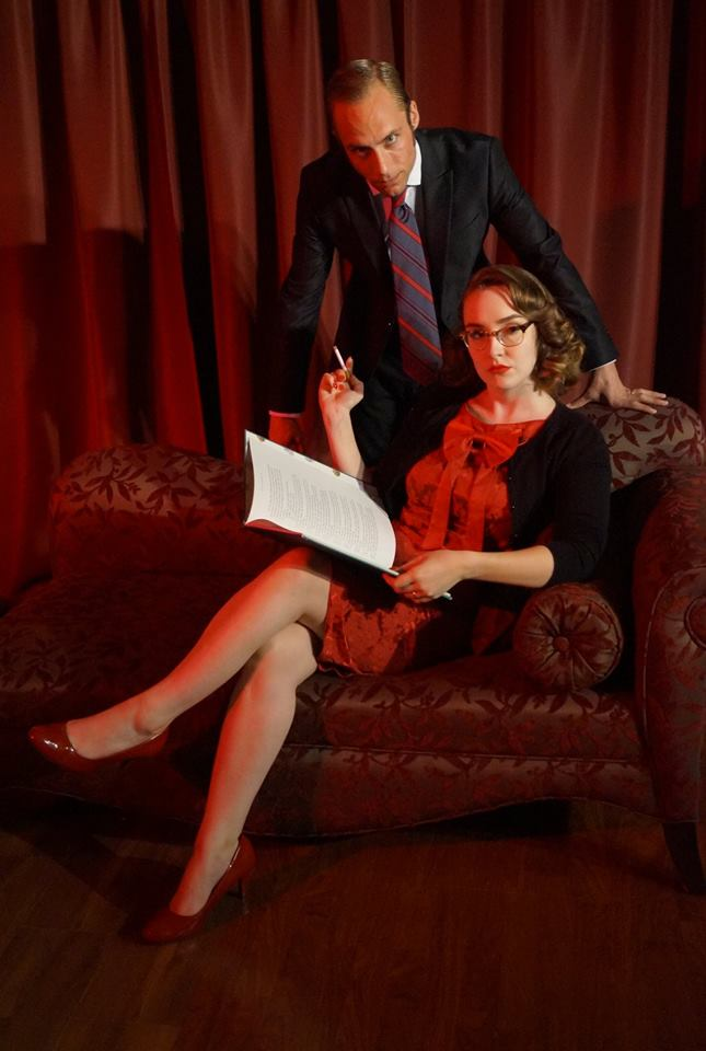Graham Daley and Hailey Sabourin in Mockingbird Close